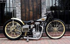 vintage harley motorcycle - Promoted by Old Southern Souls Harley Davidson History, Harley Davidson Chopper, Sidecar, Speedway Racing, Bike Engine, Vintage Bikes, Vintage Motorcycles, Custom Motorcycles, Custom Bikes