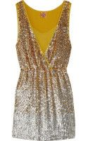 Tory Burch Rennon Sequined Dress - Lyst