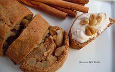 Low Carb Gourmet Girl Cooks: Apple Cinnamon Walnut Rolls w/ Whipped Cinnamon Cream Cheese