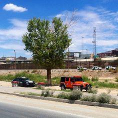 Vigilancia fronteriza. #Juárez-El Paso
