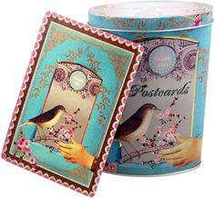 PaPaYa THANK YOU Postcards (6 Designs/18 Cards) with Tin $10.99