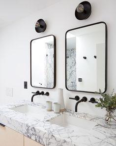 Five Easy Bathroom Updates on apartment 34 Easy Bathroom Updates, Simple Bathroom, Bathroom Ideas, Barn Bathroom, Washroom, Bathroom Inspiration, Tropical Home Decor, Affordable Home Decor, Beautiful Bathrooms