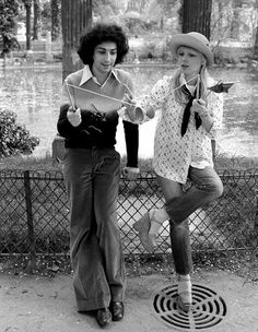 Great picture of Michel Berger and France Gall obviously from The seventies France Gall, Joanne Woodward, Best Vacation Destinations, Best Vacations, Rachel Weisz, Brad Pitt, Couple Rock, Jamie Hince, Franck Sinatra