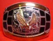 AWESOME Custom Johnson & Held Eagle Silver Cowboy Belt Buckle ~MAKE OFFER~ $195.00 or Best Offer Free shippingItem image