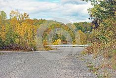 Photo about Curving road with fall colours near Cobalt, Ontario in northeastern Ontario, Canada. Image of fall, northeastern, gravel - 101891000 Cobalt, Ontario, Country Roads, Canada, Colours, Stock Photos, Fall, Autumn, Fall Season
