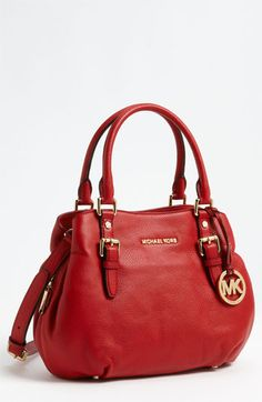MICHAEL Michael Kors 'Bedford - Medium' Satchel available at #Nordstrom