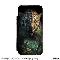 The Jungle Book | Shere Khan & Mowgli iPhone SE/5/5s Wallet Case