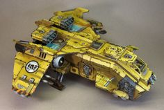 Imperial Fists Pre-Heresy Flyer by James Wappel