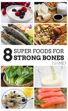http://www.webmd.com/osteoporosis/ss/slideshow-superfoods-for-your-bones?ecd=soc_pin_042815_ss_foodsforbones Our #bones remain strong throughout young adulthood. As we hit our 30s, they slowly begin to thin out. In women, this process accelerates after menopause, but there are ways to put on the brakes. One of the best lines of defense is your #diet -- eating the right foods can give you the maximum bone strength and boost your #bone density at any age. #SuperFoods