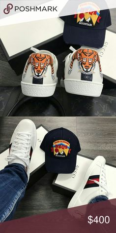 "Gucci Tiger Sneakers Brand New Deadstock 100% Mens & Womens sizes Available Box And Tags Included Overnight Shipping on ALL! Orders For Sizing and Orders.  TE. XT.  ▶630 -   728.""  -   8781 ◀ Shoes Sneakers"