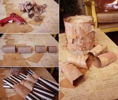 Aunt Peaches: Fun with Birch Bark