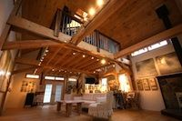 specializing in elegant and artistic barns using a modified post and beam structure and timber frame Barn Builders, Beam Structure, Post And Beam, Modern Barn, Most Beautiful, Pergola, Art Spaces, New Homes, Outdoor Structures