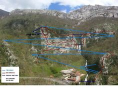 Tirolina en amieva Asturias