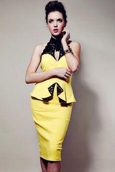 Becky Peplum Dress