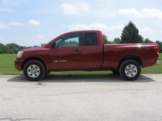 2005 NISSIAN TITIAN EXCAB 4WD SHORT BED PICKUP $6,500.00