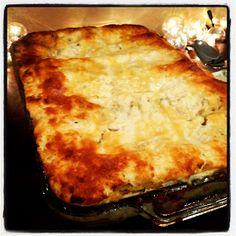 Pardon My Crumbs: Vegetarian Butternut Squash + Mushroom Lasagna