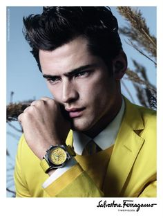 Sean O'Pry Fronts Salvatore Ferragamo's Spring/Summer 2013 Watches Campaign