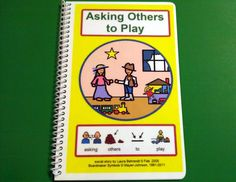 Asking Others to Play Autism Social Skills Story by TheAutismShop