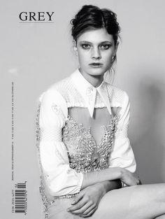 grey magazine cover