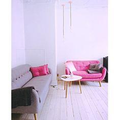 Licht, vrolijk en kleurrijk. #retro #sofacompany