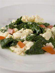 1-2-3 Tasty Morning Scramble Breakfast - The Ornish Spectrum Heart Disease Prevention Program.
