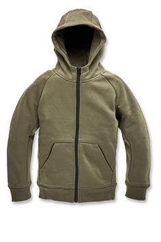 9294fde6073e Kids Uptown Zip Up Hoodie (Olive)