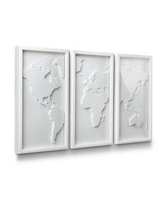 White World Map- if i could buy this right now I would