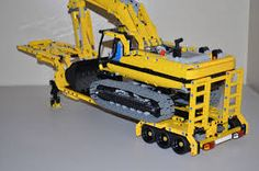 Image result for luwee49 Lego Truck, Lego Construction, Lego Technic, Nerf, Toys, Image, Heavy Machinery, Weights, Projects
