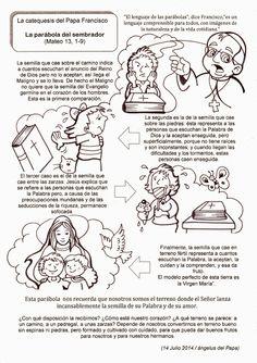 La Catequesis: Recursos Catequesis Parábola del Sembrador