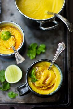 The Bojon Gourmet: Cauliflower and Yellow Split Pea Soup with Turmeric and Curried Ghee