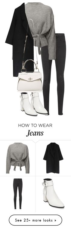 """Untitled #4883"" by theeuropeancloset on Polyvore featuring rag & bone/JEAN, Steve Madden and Handle"