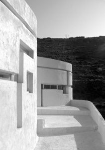 xenakis house , amorgos, cyclades, greece