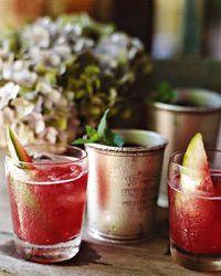 Watermelon Coolers by Susan Mason, Savannah caterer