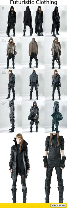 Futuristic Clothing Designs More