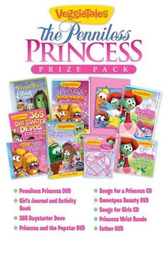 VeggieTales: The Penniless Princess Prize Pack Giveaway