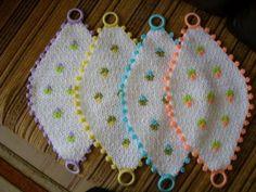 Crochet Motif, Crochet Patterns, Easter Crochet, Crochet Kitchen, Beautiful Crochet, Bargello, Doilies, Diy And Crafts, Crochet Earrings