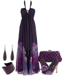 LOLO Moda: #luxurious #purple #fashion #women