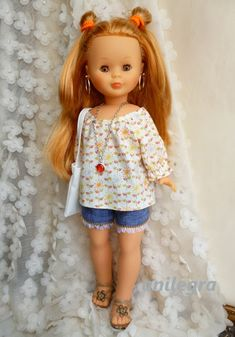 Vestidos Nancy, Nancy Doll, Cute Dolls, Doll Face, Covet Fashion, Doll Accessories, Vintage Dolls, Crochet, Flower Girl Dresses