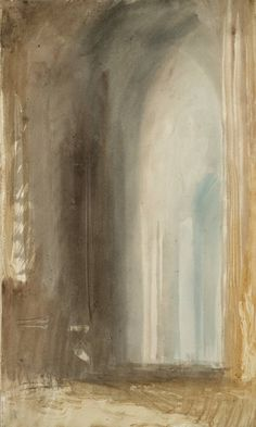 Joseph Mallord William Turner, Interior of an Italian Church, Rome. C. Studies Sketchbook, 1819