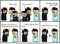 homestuck Cyanide and Happiness - Google Search