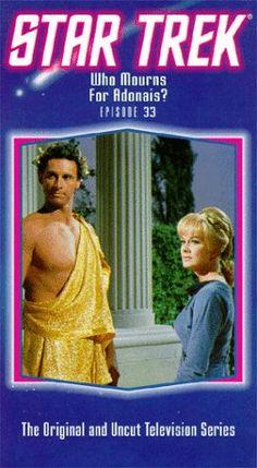 Star Trek - The Original Series Episode 33: Who Mourns For Adonais? [VHS] @ niftywarehouse.com #NiftyWarehouse #StarTrek #Trekkie #Geek #Nerd #Products