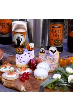 20 Graveyard Gathering Food Picks - Perfect for a Adult or Teenage party matching tableware and decorations available.