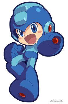 Megaman (Official Style) by *ultimatemaverickx on deviantART