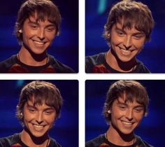 Wesley Stromberg seriously has the most captivating smile I have every seen on anyone in my entire life.