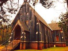 St. Luke's Cathedral, Cahawba Alabama.