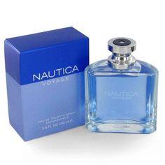 Nautica Nautica Voyage is een bloemige en groene herengeur met groene noten en appel in de top, mimosa in het hart en lotus, mos, cederhout, amber en muskus in de basis