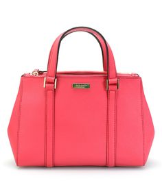 This Kate Spade Strawberry Small Loden-Newbury Lane Satchel by Kate Spade is perfect! #zulilyfinds