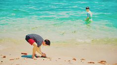 Arming sandcastles hahaha love boys are the best♥ .BTS