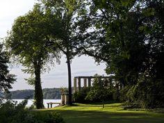 BERLIN - Casino mit Blick auf die Havel im Schlosspark Glienicke