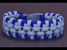 "Make the ""Hanging Bridge"" Paracord Survival Bracelet - BoredParacord - YouTube"